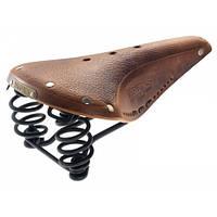Велосипедное седло  BROOKS Flyer AGED Dark Tan (005917)