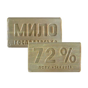 """Мыло хозяйственное 72% 200Г """"ДНЕПР"""" кусок"""
