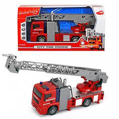 Пожарная машинка City Fire Engine 31 см с водой Dickie 3715001