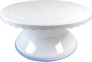 Поворотный стенд Empire d 28х12см для декорирования торта (EM-8993_psg)