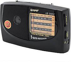 Радиоприемник 5-ти волновой мощный KIPO KB 308AC Черный (gr_006400)