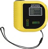 Рулетка лазерная линейка с уровнем дальномер электронный Kronos UKC CP-3010 Yellow (par_cp3010)