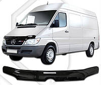 Дефлектор капота  Mercedes-Benz Sprinter с 2002,  Мухобойка Mercedes-Benz Sprinter