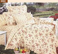 9562 Двуспальное постельное белье ранфорс Viluta