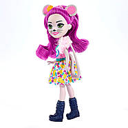 Enchantimals Mayla Mouse Doll & Fondue Figure, фото 3