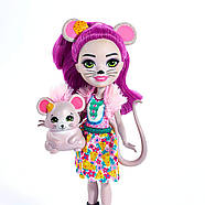 Enchantimals Mayla Mouse Doll & Fondue Figure, фото 6