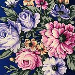 Весеннее пробуждение 1874-14, павлопосадский платок шерстяной  с шелковой бахромой, фото 3