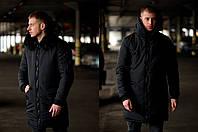Мужская зимняя черная куртка Асос