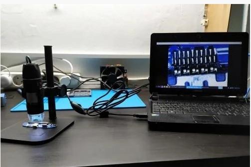 Цифровий USB мікроскоп 500Х на штативі