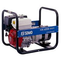 Однофазный бензиновый генератор SDMO HX6000S (6 кВт)
