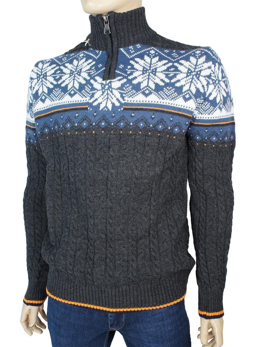 Зимний мужской свитер Trist Star 5238 Antra