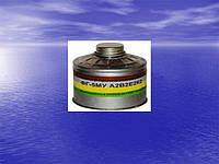 Фильтр противогазовый  малого габарита А2В2Е2К2Р3