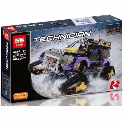 """Конструктор Lepin 20057 """"Экстремальные приключения"""" (аналог Lego Technic 42069), 2050 деталей"""