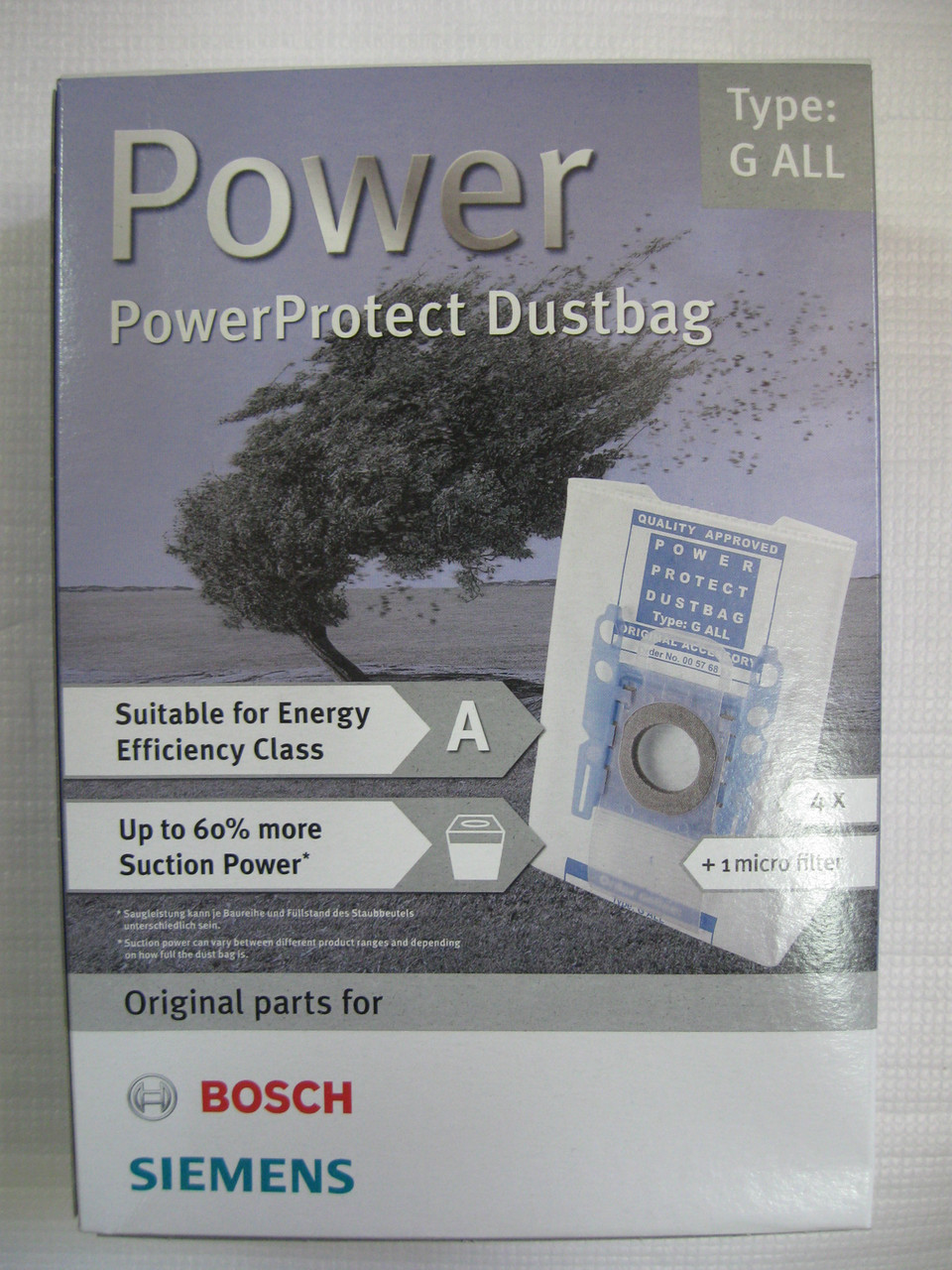 Мешки для пылесоса Bosch  TYPE:G All,  00576863