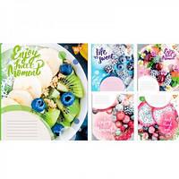 Зошит на 36 аркушів у лінійку YES Enjoy Sweet Moments Floral Ideas