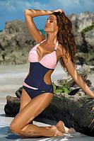 Сдельный купальник MARKO размер M розово-синий купальник сдельный, интересный, твердая чашка! Класс!!