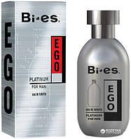 Туалетна вода для чоловіків Bi-es Ego Platinum Hugo boss Hugo element 100 мл (5907699480524)