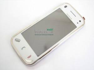 Сенсор NOKIA N97 mini с рамкой (оригинал), тач скрин для телефона смартфона, фото 2