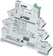 Интерфейсное реле времени 12 VAC/DC  9 функций