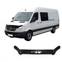 Дефлектор капота  Mercedes-Benz Sprinter с 2006, Мухобойка Mercedes-Benz Sprinter