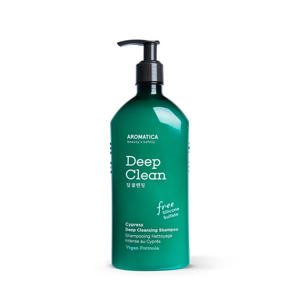 Шампунь для глубокого очищения Aromatica Cypress Deep Cleansing Shampoo, 400ml