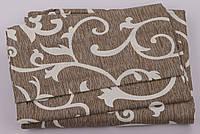 Комплект постельного белья Хлопок 100 Gold Двуспальный от украинского производителя Коричневый 5003