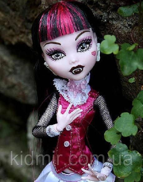 Кукла Monster High Дракулаура (Draculaura) базовая без питомца Монстер Хай Школа Монстров
