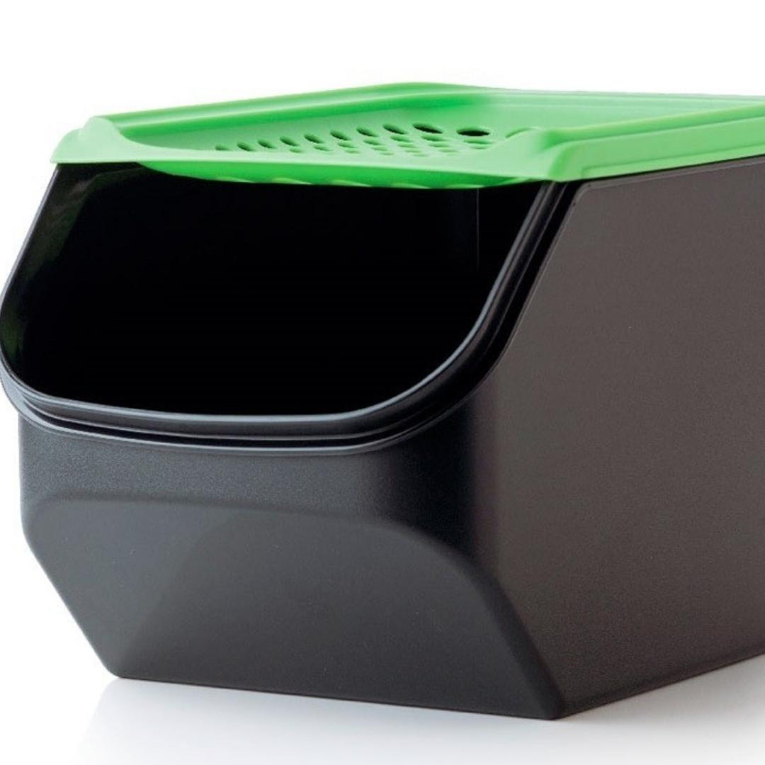 Контейнер Дыхание 3 л Tupperware с салатовой крышкой