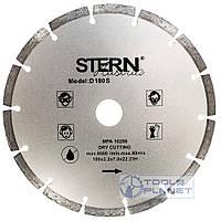 Алмазный диск Stern 180 х 7 х 22,23 Сегмент