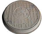 Люк для кабельных колодцев «Электрический» (ЛА15) с з/у, фото 2