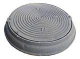Люк для кабельных колодцев «Электрический» (ЛА15) с з/у, фото 3