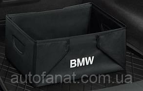 Оригинальный складывающийся ящик для багажного отделения BMW Black Line (51472303796)
