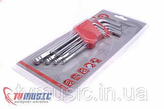 Набор шестигранных ключей Intertool HT-0603