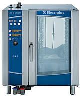 Газовая пароконвекционная печь AIR-O-STEAM. 10 GN 1/1, автоматическая мойка, уровень B
