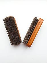 Щетка для обуви из конского волоса 14 см