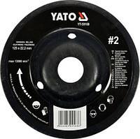 Диск-фреза шлифовальный по дереву/ ПВХ/ гипсу YATO YT-59169 (Польша)