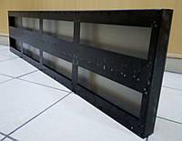 Корпус (рамка) 128см х 32см для изготовления бегущей строки