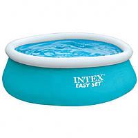 Бассейн наливной Intex 28101 голубой, 183х51 см, Объем: 2420 л при заполнении 80%