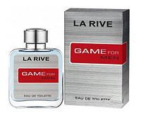 Туалетна вода для чоловіків La Rive Game For Man 100 мл (5906735234497)