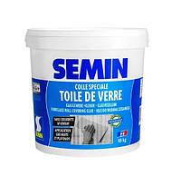 COLLE TDV- Готовый специальный клей для всех стеклообоев и стеклохолстов (10 кг) Semin