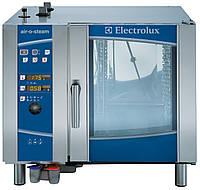 Газовая пароконвекционная печь AIR-O-STEAM. 6 GN 1/1, автоматическая мойка, уровень B