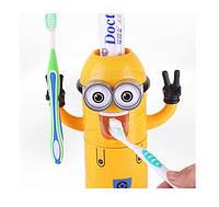Диспенсер - дозатор зубної пасти та щіток (Міньйон) арт. 34565