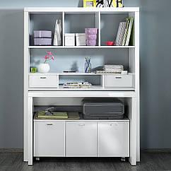 Письменный складной комплект: стол, шкаф, тумба 108М