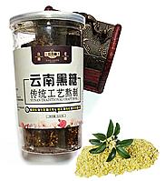 Коричневий цукор з квітами Османтуса (червоний тростинний цукор) 500 грам, фото 1