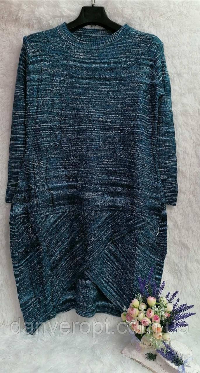 Платье женское модное размер универсальный 48-52 купить оптом со склада 7км Одесса