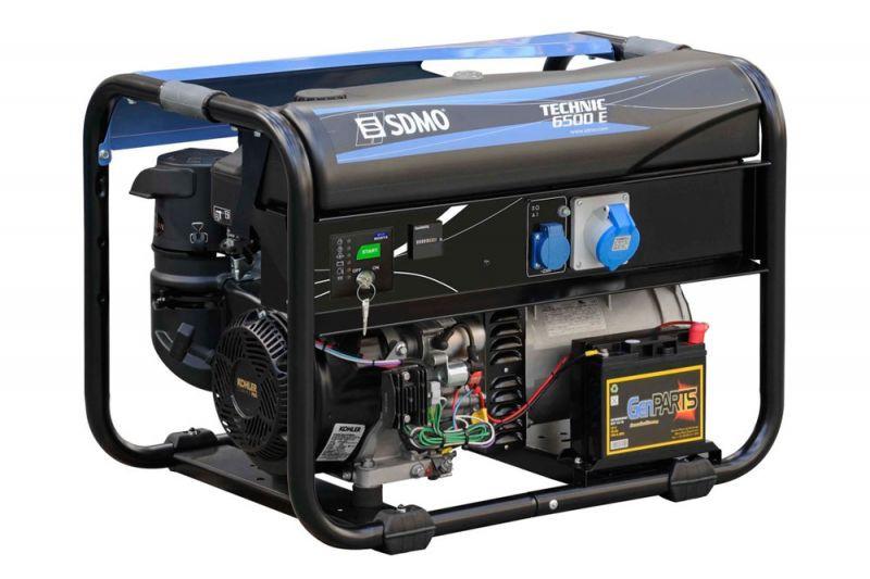 ⚡SDMO Technic 6500 E AVR (6,5 кВт)
