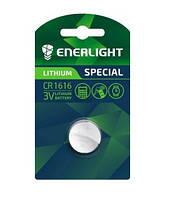 Батарейка ENERLIGHT LITHIUM CR 1616 BLI 1 (таблетка) 4823093502413