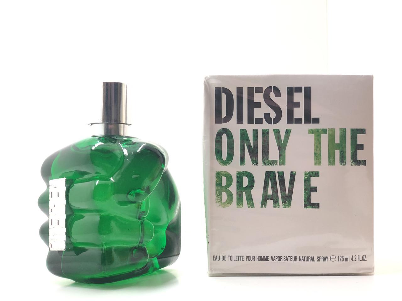 Мужской парфюм Diesel Only The Brave Green (Дизель Онли Зе Брейв Грин) 125 мл