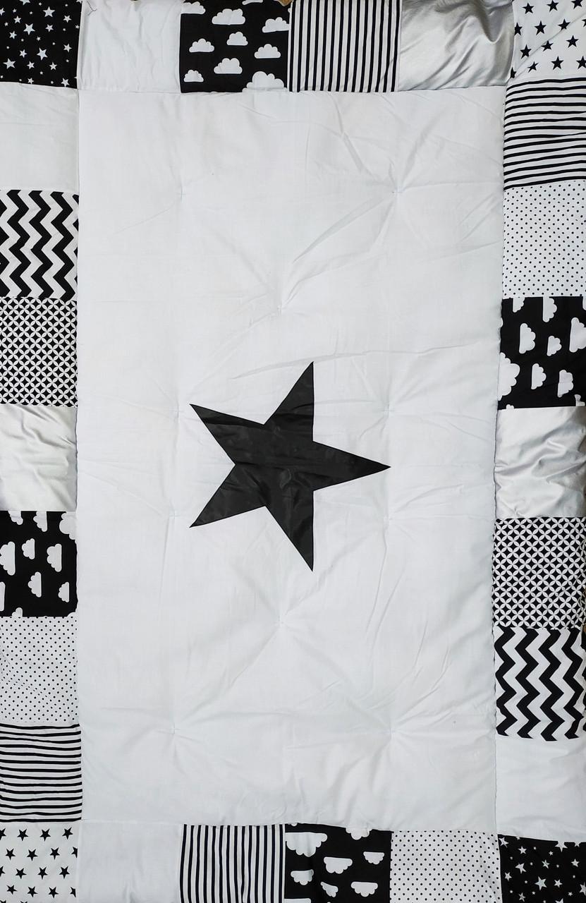 Одеяло детское зимнее с вставками