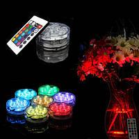 LED водонепроницаемая подставка для подсветки с пультом